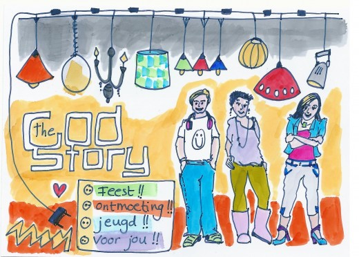 uitnodiging God story