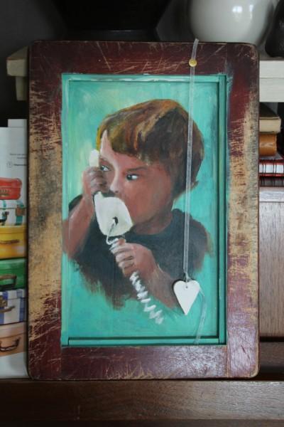 Broodplank schilderij