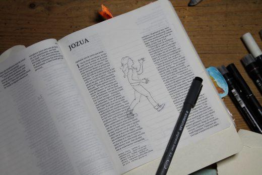 uitleg stap 1 Jozua 1