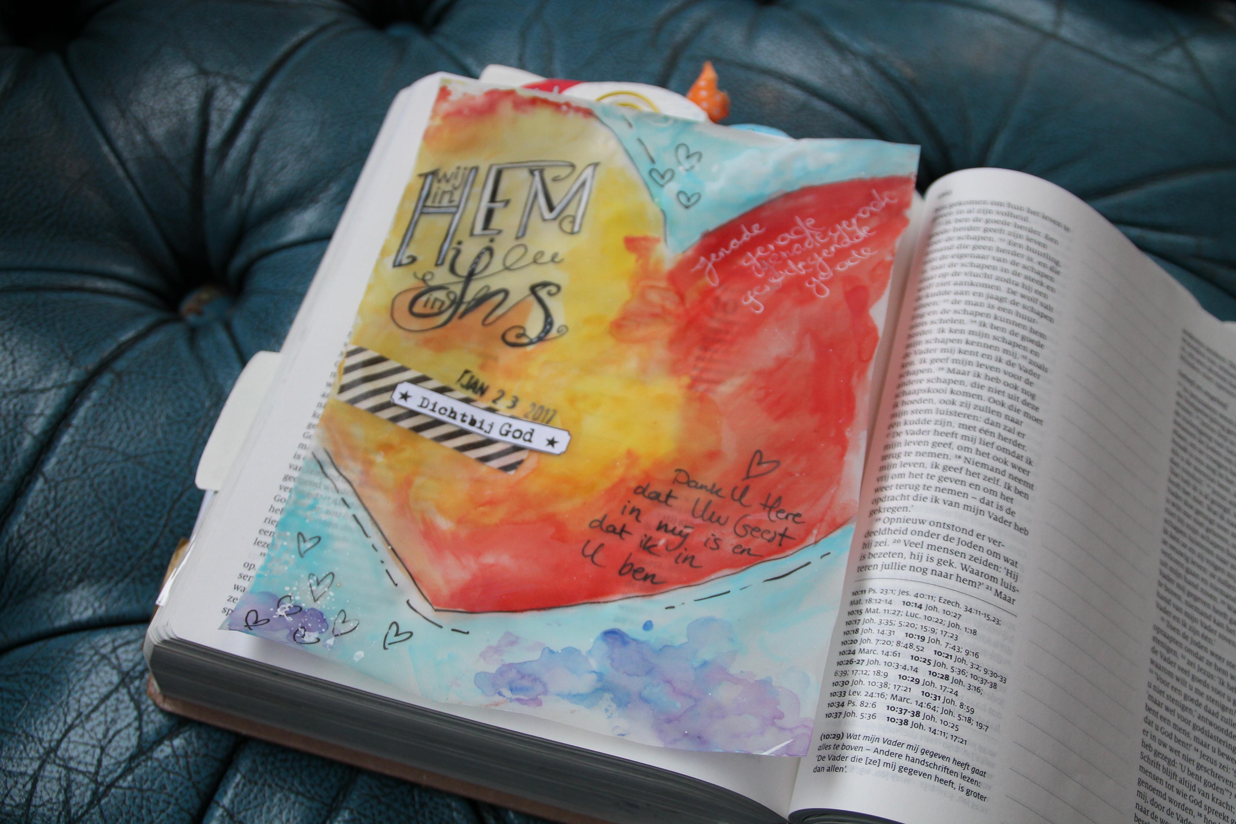 Sjabloon biblejournaling 1 Johannes 4