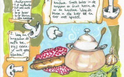 Robin Magazine, champignonsoep