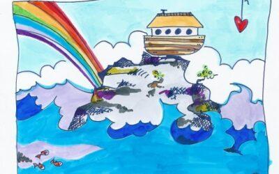 kaartje Noach