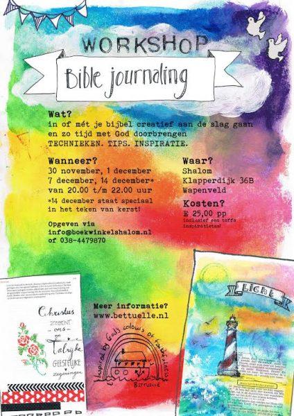 Workshop biblejournaling!